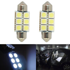 3PCS Set 12V Festoon 36mm 3W 270lm 6-SMD 5050 LED Light Car License Plate White