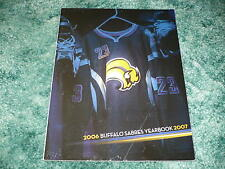 BUFFALO SABRES 2006 - 2007 YEARBOOK, Hockey, NHL, Danny Briere, Ryan Miller