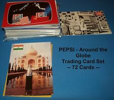 PEPSI Cola - Around the Globe    - TRADING CARDS    COMPLETE BASE SET