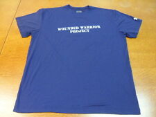 Navy Blue Wounded Warrior Loose Under Armour T-Shirt