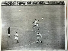 photo press football  World Cup 1958  Brazil-France 1/2 finale       345