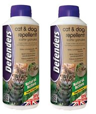 2 X 450G Cat Dog Scatter Granules Repellent Repeller Deterrent Deter STV616