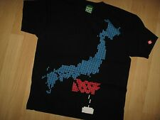 Punk Drunkers Tee - Old School DSSF Video Game Pixels Gamer Geek Japan T Shirt M