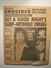 National Enquirer 3-14-1978. Slyvester Stallone Cover! Rocky! Suzanne Sommers!