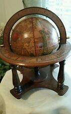 Vintage Reproduction of Terrestrial Zodiac Globe Original Made In 1507 Italy