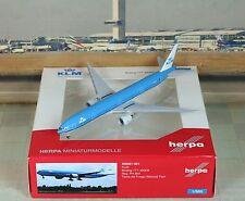 """Herpa Wings KLM """"National Park"""" B777-300 (NG) """"Rare"""" 1/500"""
