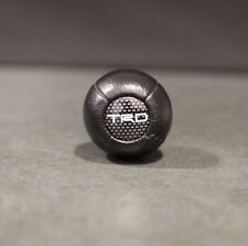 NEW LEATHER TRD BALL TYPE SHIFT KNOB MR2 AW11 SW20 AE86 KP61 STARLET TRUENO