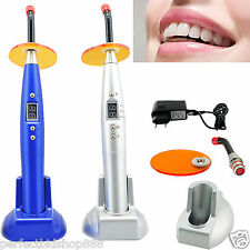 New CL2 Dental Dentist 5W Wireless Cordless LED Curing Light Lamp 1500mw Blue