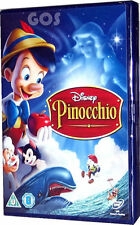 Pinocchio Classic Walt Disney 2nd Animated Childrens Film DVD New Sealed