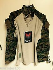 new Military Crye Precision Tactical Combat Shirt DRIFIRE MARPAT USMC SMALL Reg