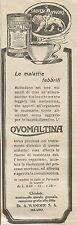 W6290 Ovomaltina le malattie febbrili - Pubblicità 1925 - Advertising
