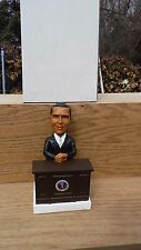 POLITICAL BOBBLE HEADS NEW IN THE BOX - BARACK OBAMA AT HIS DESK