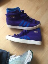 Size 5 Adidas Basket Profi Hi Tops Worn Once