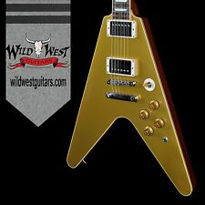 Gibson Custom Shop Limited Run Flying V Standard Gold Top Preowned