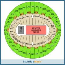2 The 1975 tickets * row 5 * GREAT LOWERS * Los Angeles Inglewood Forum * 10/14
