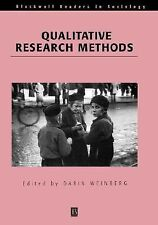 Wiley Blackwell Readers in Sociology: Qualitative Research Methods (2001,...