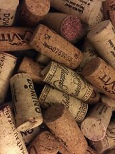 100 Wine Corks-Red & White-All Natural No Synthetics!!! No Champagne! Crafts!