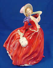 Vintage Royal Doulton Figurine AUTUMN BREEZES HN 1934