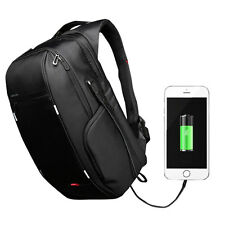 "15.6"" Notebook Laptop Backpack For Men Women External USB Charge Computer Bag"