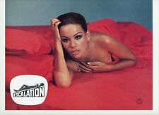SEXY CLAUDINE AUGER ESCALATION 1968 VINTAGE LOBBY CARD #1
