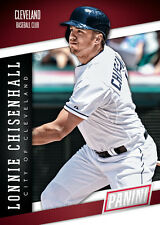 LONNIE CHISENHALL Indians Team Colors Panini 2014 National Convention
