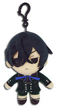 *NEW* Black Butler: Ciel 5'' Plush Key Chain by GE Animation
