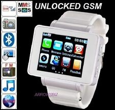 Unlocked Touch Screen Wrist Watch GSM Phone with Camera Bluetooth compass GPRS