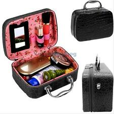 Pro Makeup Train Storage Bag Case Jewelry Box Cosmetic Artist Organizer Portable