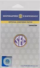 LSU TIGERS SEC  FOOTBALL JERSEY UNIFORM PATCH NCAA COLLEGE JERSEY