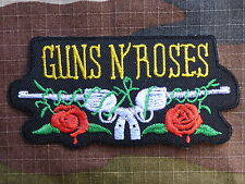 ECUSSON PATCH toppa aufnaher THERMOCOLLANT GUNS N ROSES musique rock / 9.7X4.7cm