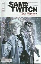 SAM AND TWITCH, THE WRITER # 2 OF 4 BLUE SNOW CHAPTER TWO. IMAGE