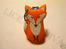 NAIL CLIPPERS HEAVY RUBBER COATED FOX KEY CHAIN! STURDY RUBBER & STEEL! NEW!