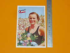 BERLIN 1936 JEUX OLYMPIQUES OLYMPIA NATATION GISELA ARENDT DEUTSCHLAND