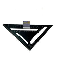 "12"" Heavy Duty Aluminium Speed Square Measuring Tool Roofing Triangle Joinery"