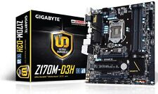 Gigabyte Z170M-D3H Intel LGA1151 mATX Motherboard USB 3.0, SATA 3 and CrossFireX