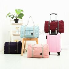 Travel Big Size Foldable  Nylon Luggage Bag Clothes Storage Carry-On Duffle Bags