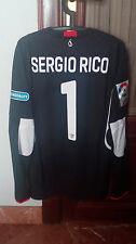 #1 SERGIO RICO, SEVILLA FC Match Worn PLAYER GK shirt, Spanish LFP 2015-16