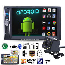 "Camera+7"" Double 2DIN Bluetooth Car Stereo Audio MP3 MP5 Player FM Radio USB AUX"