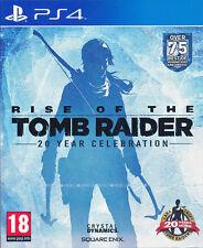 Rise of the Tomb Raider 20 Year Celebration PS4 (English Portuguese Spanish)