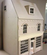 The Burford 1/12th scale Georgian Shop Dolls House with 2 rooms - FREE UK P&P