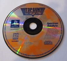Top Gun: Fire at Will (Sony PlayStation 1, 1996) - Disc only