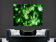 WEED MARIJUANA GIANT WALL POSTER ART PICTURE PRINT LARGE HUGE