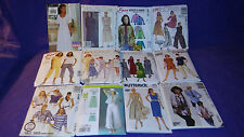 Lot of 26 Vintage Dress Patterns, Simplicity, McCall's, Butterick