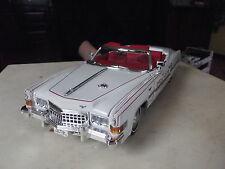 1/18 ANSON CADILLAC ELDORADO  PACE CAR INDY 1973   ( NO BOX)