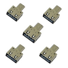 5pcs USB 2.0 Type A Female Jack to USB 2.0 Micro B Male OTG Adapter For HTC LG