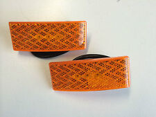 L.E.D. TRAILER LED SIDE CLEARANCE LIGHTS WITH REFLECTORS - AMBER - PAIR