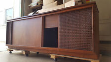 Barziley Vintage Stereo Console, Mid-Century Speaker Cabinet EMPTY