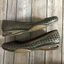 Womens Cole Haan Nike G Series Bria Woven Ballet Flats Copper SZ 7 Shoes