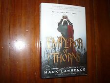 Emperor of Thorns (The Broken Empire) Mark Lawrence Signed 1st
