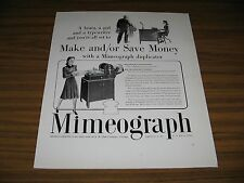 1940 Print Ad AB Dick Mimeograph Duplicating Copy Machines Chicago,IL